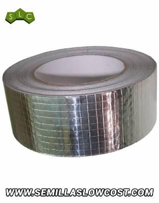 Cinta Adhesiva Brillo Metal Reforzado 50mtrs