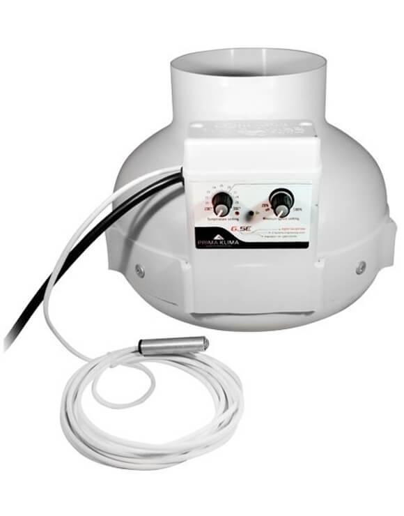 Extractor Prima Klima con control de Tª
