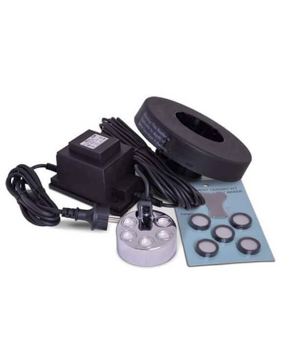 Humidificador 5 Membranas + flotador+recambios