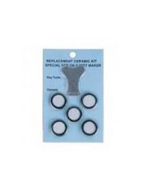 Rec. Humidificador Ultrasonido 5 Membranas Discos+ Llave