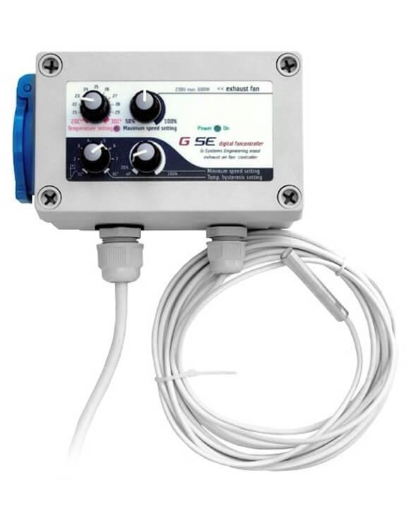 Controlador Tª, Velocidad e Hysteresis Min y Max (2) GSE