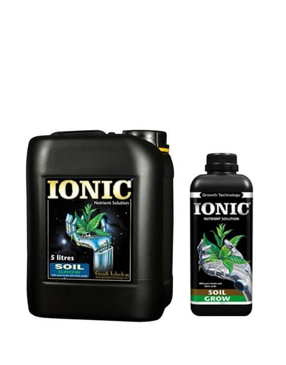 Ionic Soil Grow Growth Technology