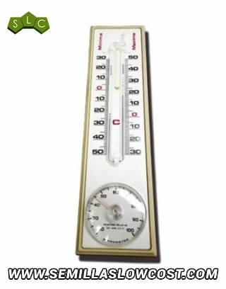 TermoHigrómetro Max-Min Analógico