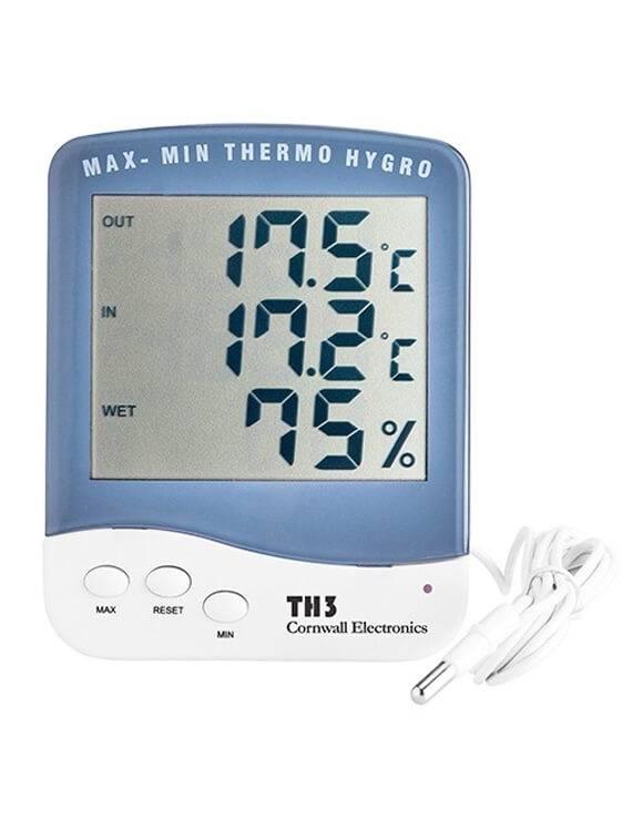 Termohigrómetro sonda Cornwall Electronics