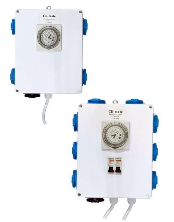 Temporizador + calor 2000 W CLI-MATE