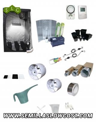 Kit cultivo 400W armario 80cm