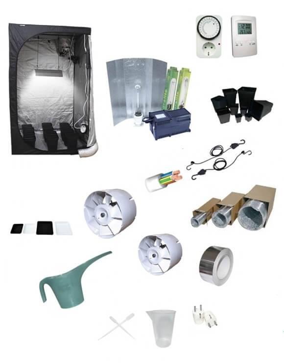 Kit cultivo 600W armario 100cm