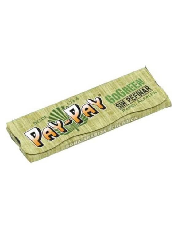 Papel Pay-Pay GoGreen 78mm Verde 25 uds/caja