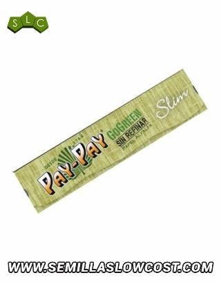 Papel Pay-Pay GoGreen Slim 110mm Verde 50 uds/caja