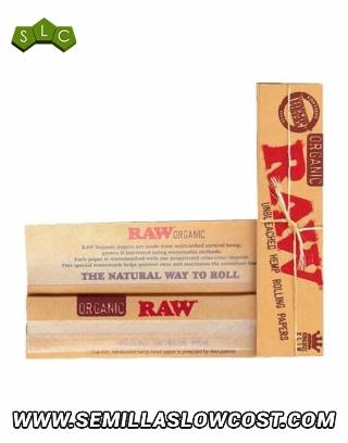 Papel Raw King Size Slim (caja 50)