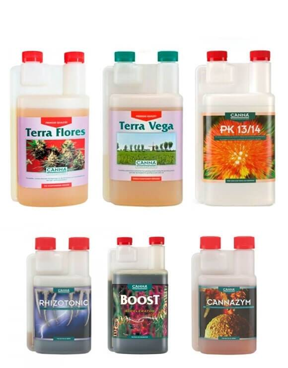 Canna Pack Fertilizantes