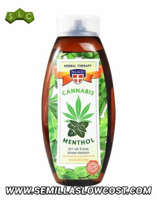 Champú Ducha Cannabis Menthol 500 ml Palacio