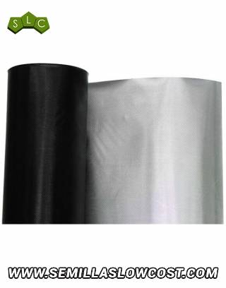Plástico Reflectante Diamond Negro