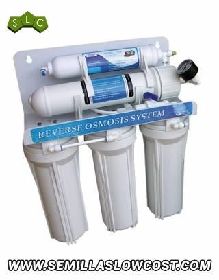 Filtro de Ósmosis de 5 etapas + depósito de presión (P)