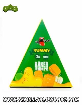 Baked Lemon Pie - Aroma Big Mouth