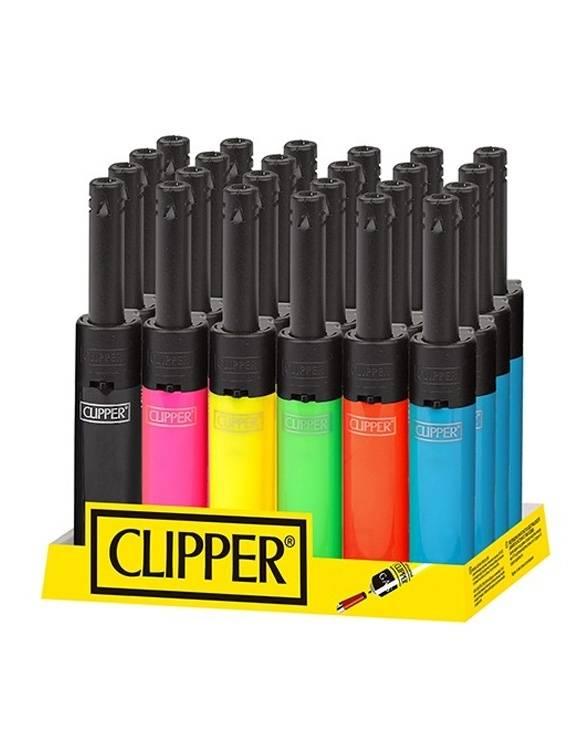 Mechero Clipper Mini Tube CP11R 20 uds