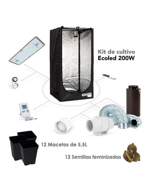 Kit de cultivo LED - ECOLED