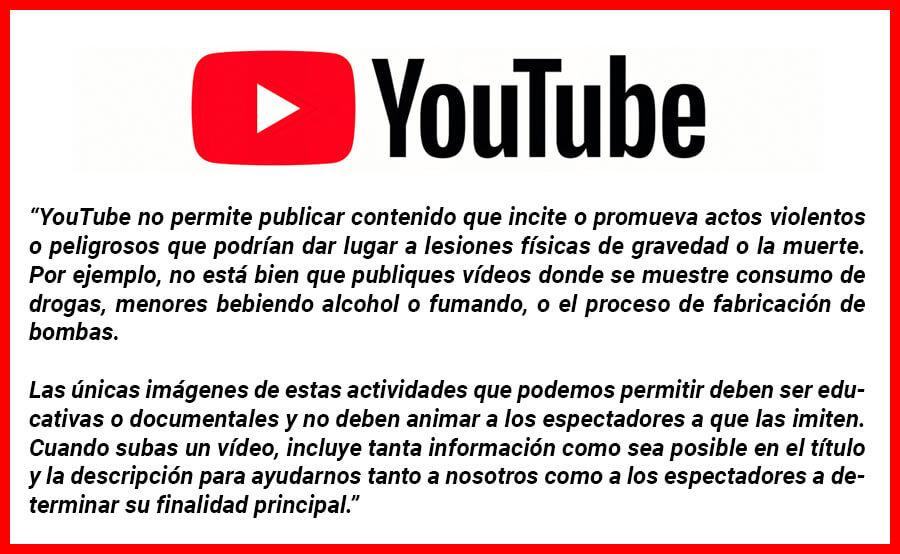 aviso youtube