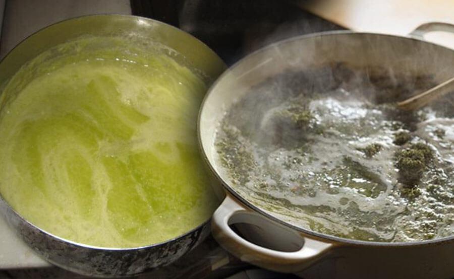 hervir mantequilla
