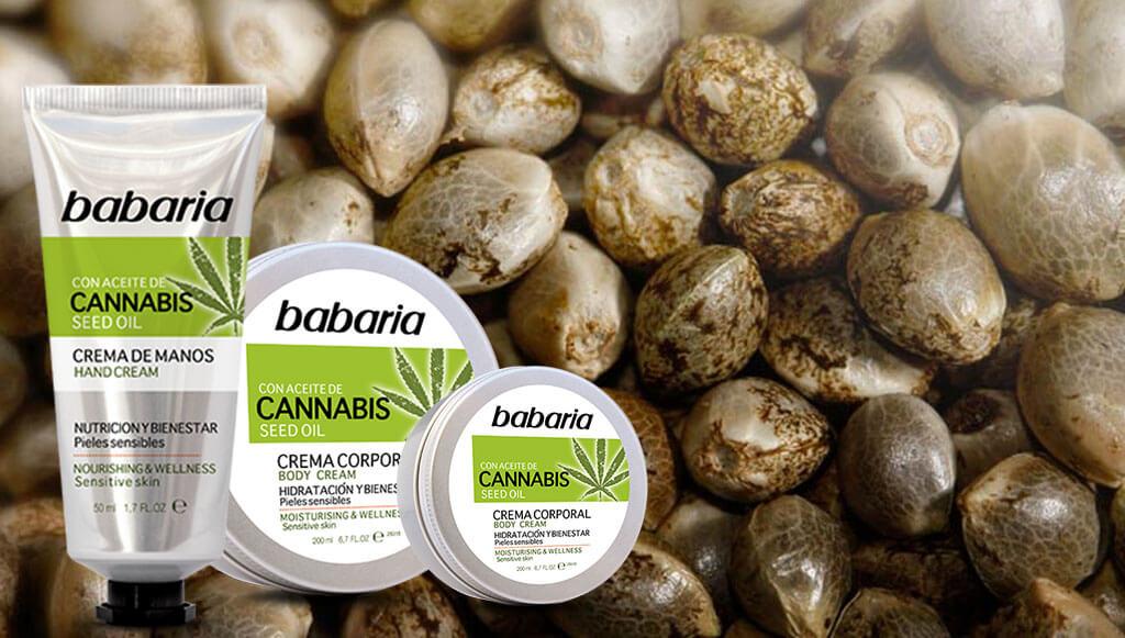 Cremas con cannabis babaria