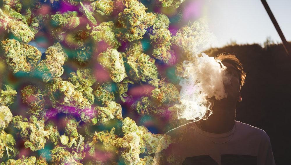 subidón fumar marihuana