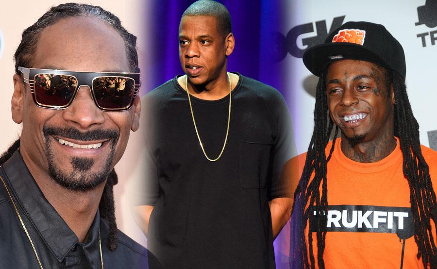 Snoop Dogg, Jay-Z y Lil Wayne