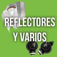 Reflectores y varios