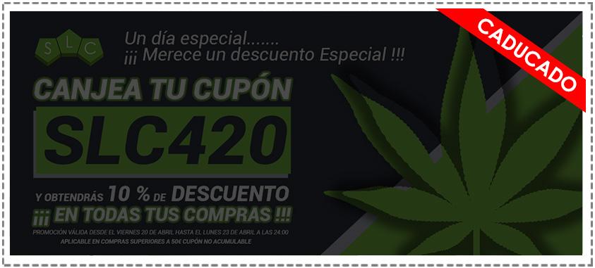 cupón descuento 420