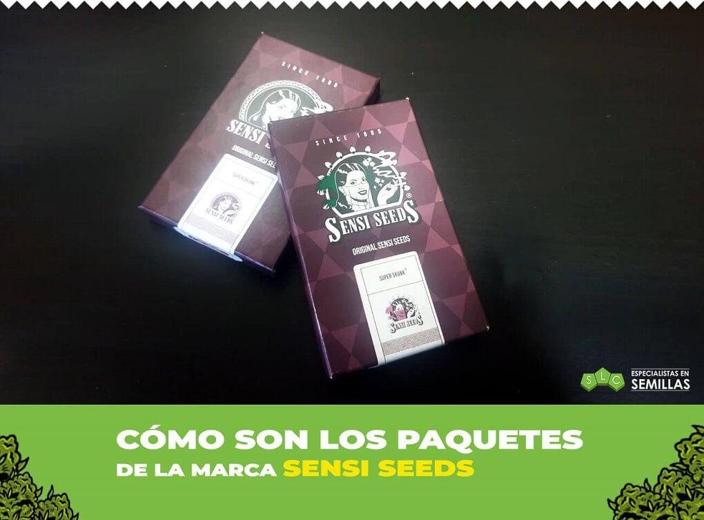Empaquetado sensi seeds